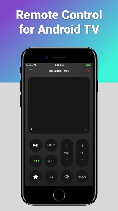 Remote for TVs with Android OSのおすすめ画像1