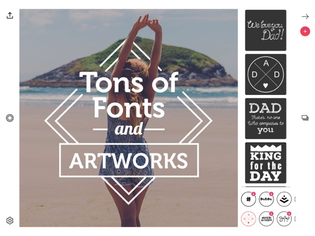 Font Candy Photo & Text Editor on the App Store