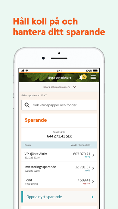Screenshot for Swedbank privat in Norway App Store