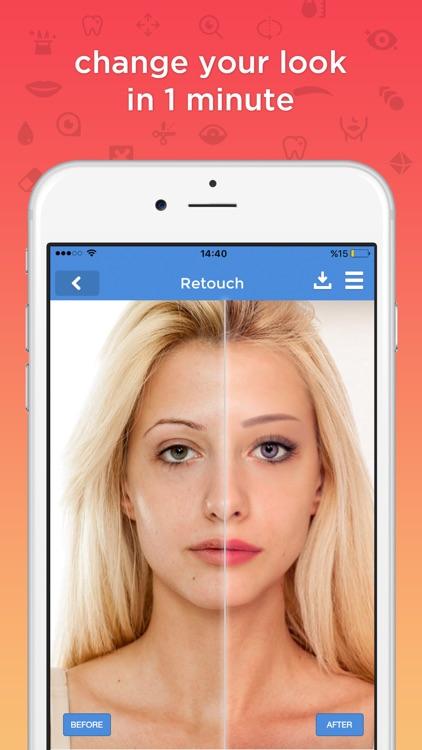 fixtouch - retouch & makeup screenshot-0