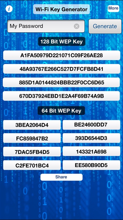 iWep Generator Pro - WiFi Pass