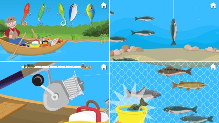 Fishing With Grandpa screenshot-3