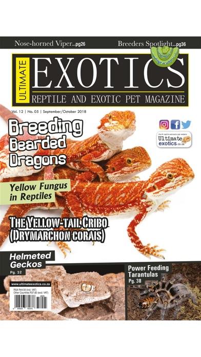 Ultimate Exotics Magazine Screenshot
