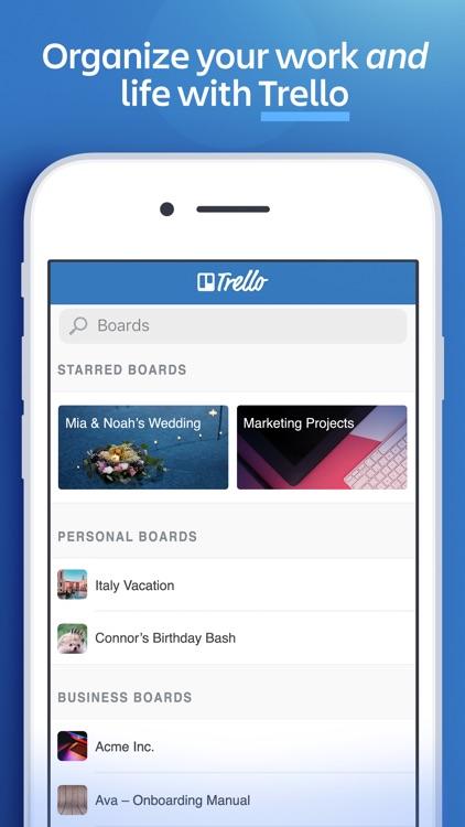 Trello — Organize anything! screenshot-4