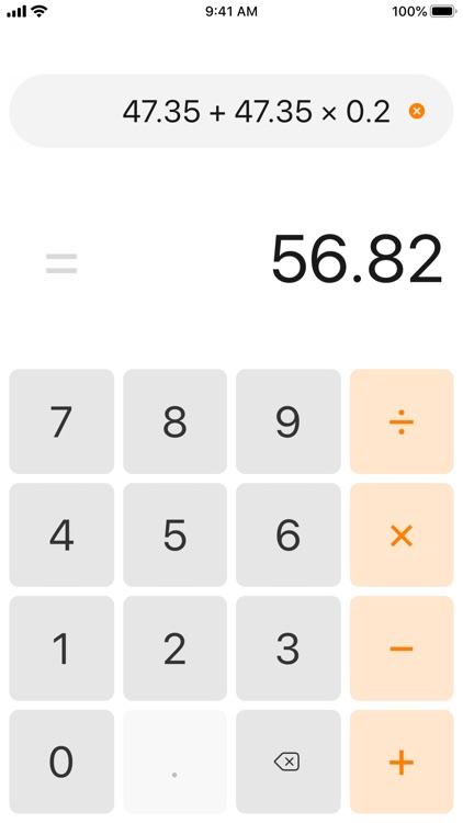 Essential Calculator screenshot-4