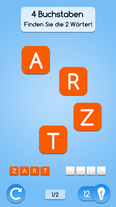 AnagrApp - GehirntrainingScreenshot von 1