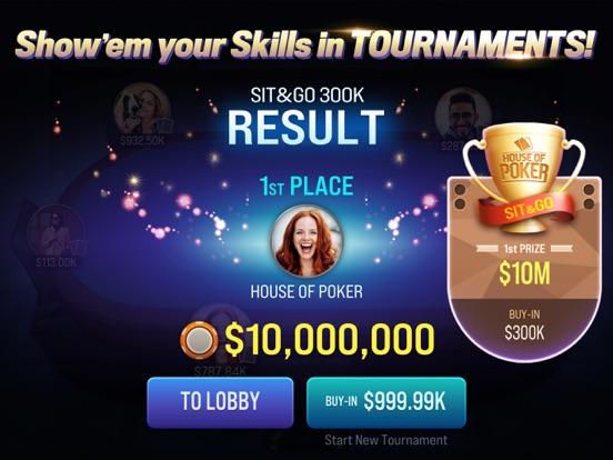 Texas Holdem : House of Poker screenshot 8