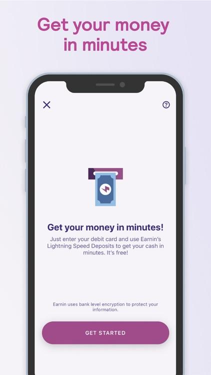 Earnin - Get $100 screenshot-5