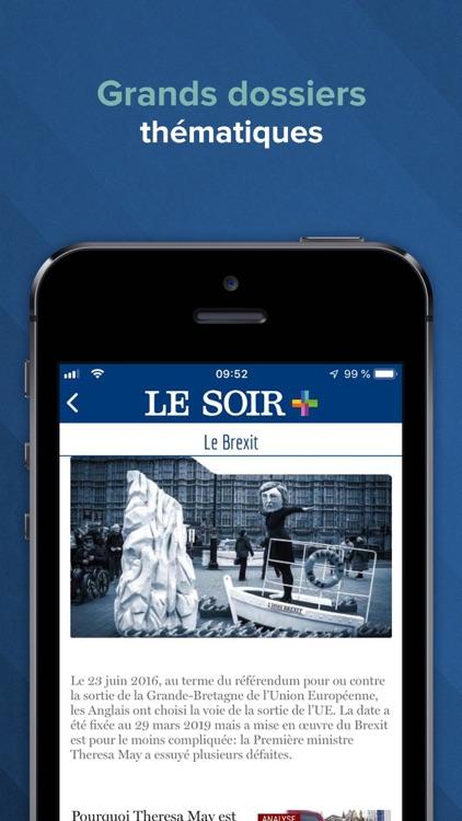Le Soir – actu et info screenshot-3