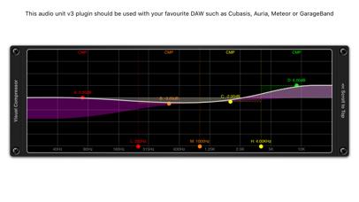 Visual Multi-Band Compressor screenshot 2