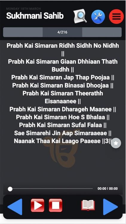 Sukhmani Sahib Path With Audio screenshot-4