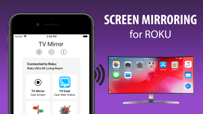 download Screen Mirroring+ for Roku apps 1