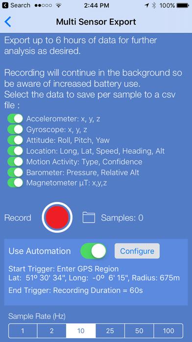 Sensor Play - Data Recorderのおすすめ画像3