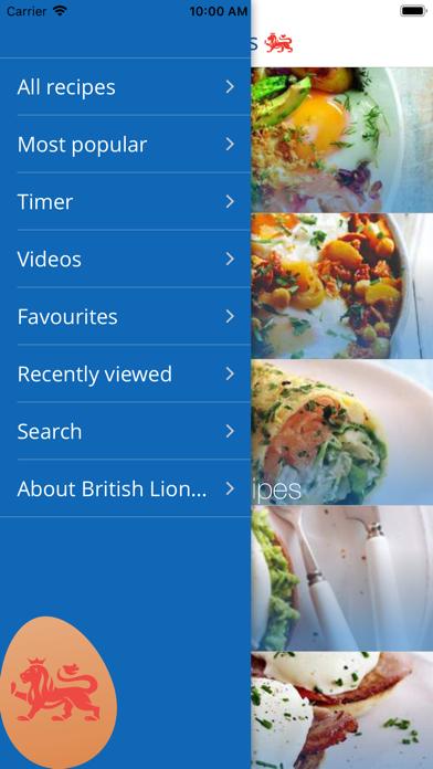 Egg Recipes screenshot two