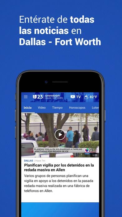 Univision 23 Dallas screenshot 3