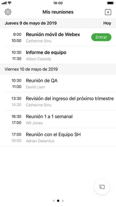 Screenshot for Cisco Webex Meetings in Colombia App Store