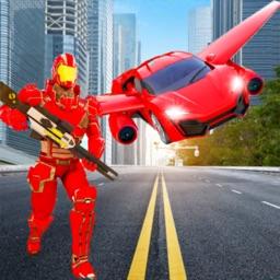 Grand Robot Car Transformer 3D