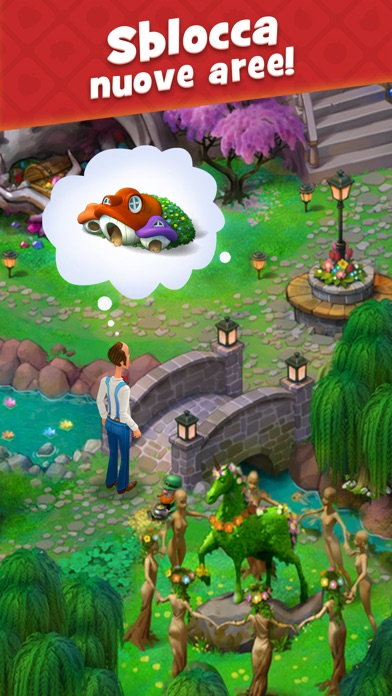Screenshot for Gardenscapes in Italy App Store