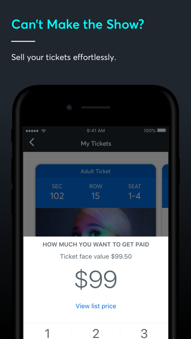Ticketmaster-Buy, Sell Tickets Screenshot