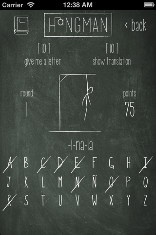 Hangman for Spanish learners - náhled