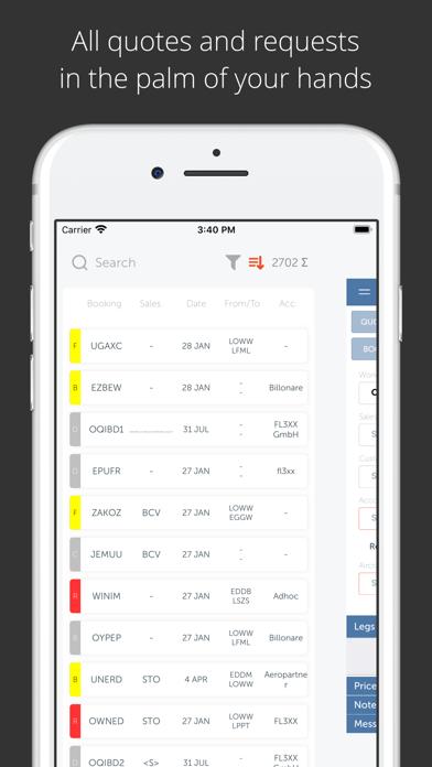 FL3XX Sales screenshot two