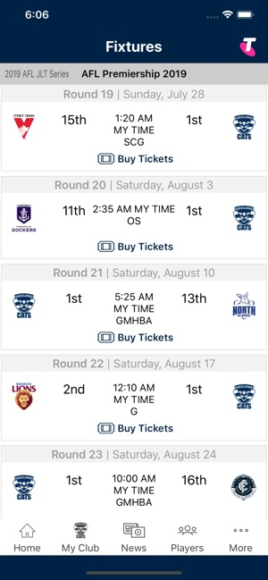 Geelong Cats Official App on the App Store