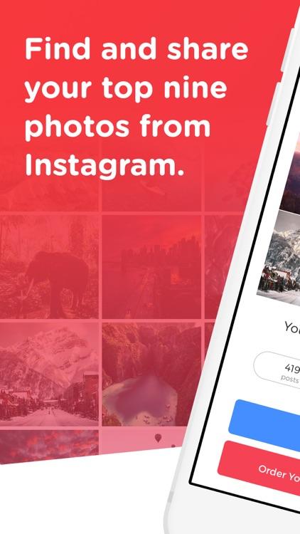 Top Nine for Instagram 2020 -