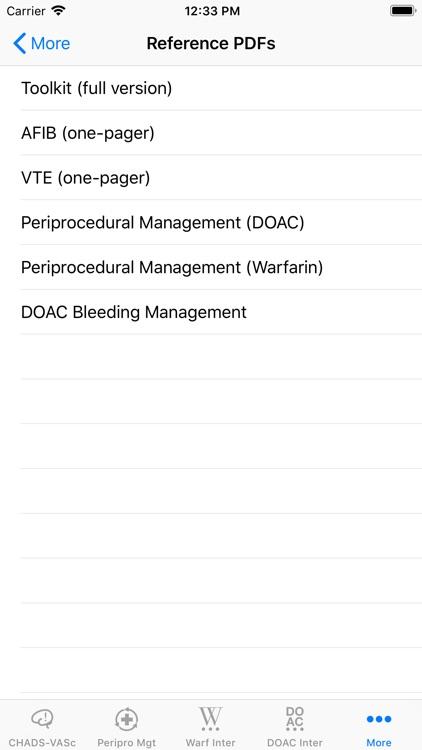 MAQI2 Anticoagulation Toolkit screenshot-6