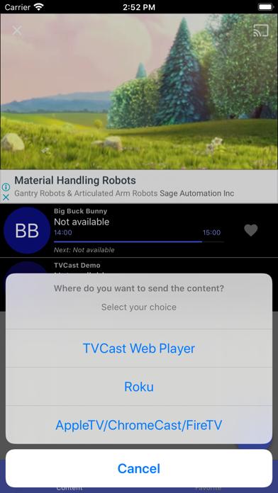 messages.download TVCast IPTV on your TV software