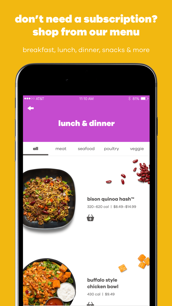 Snap Kitchen: Meal Delivery App for iPhone - Free Download