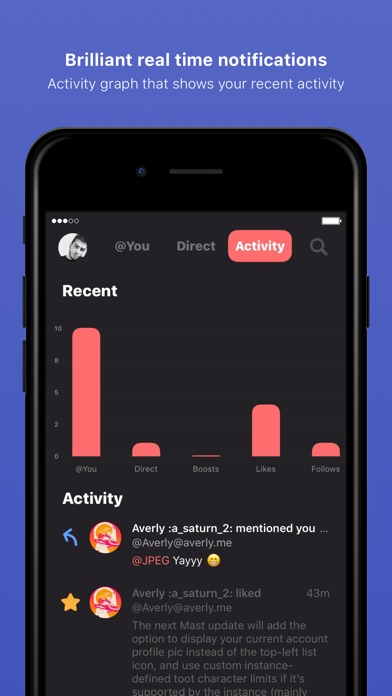 Mast app image