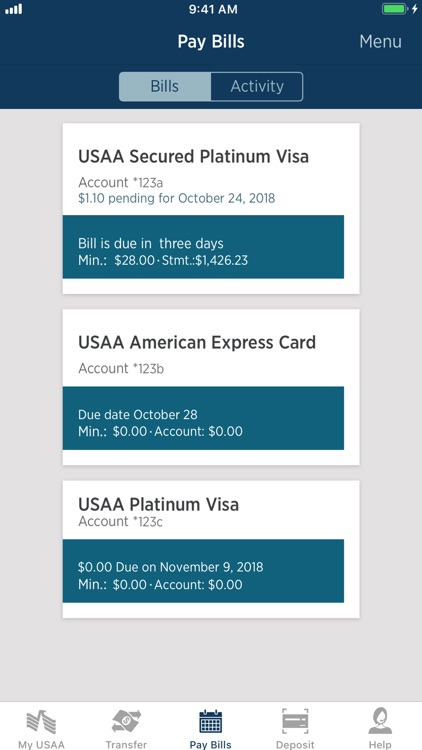 USAA Mobile screenshot-7