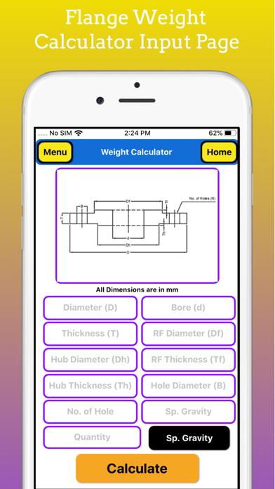 Fabrication Weight Calculator screenshot 4