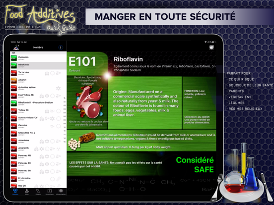 Screenshot #4 pour Additifs Alimentaires 2