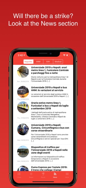 Gira Napoli Public Transport On The App Store