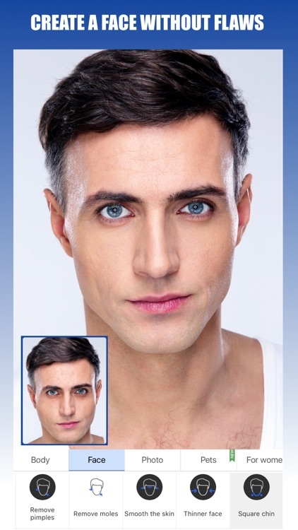 Retouch Men: Abs & Body Editor
