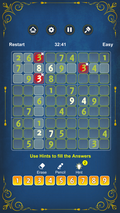 cancel Sudoku Epitome Puzzle Game Android 용