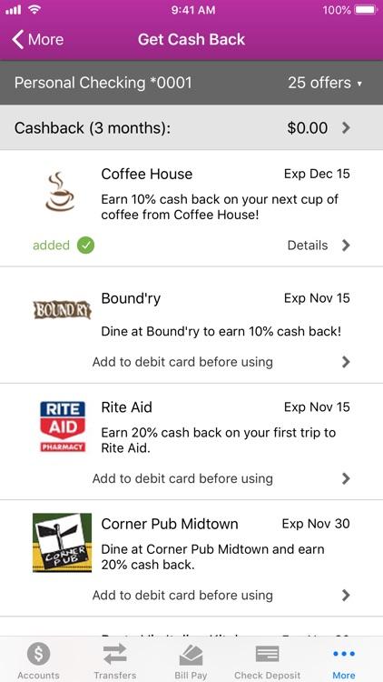 1ST SUMMIT Mobile Banking screenshot-6