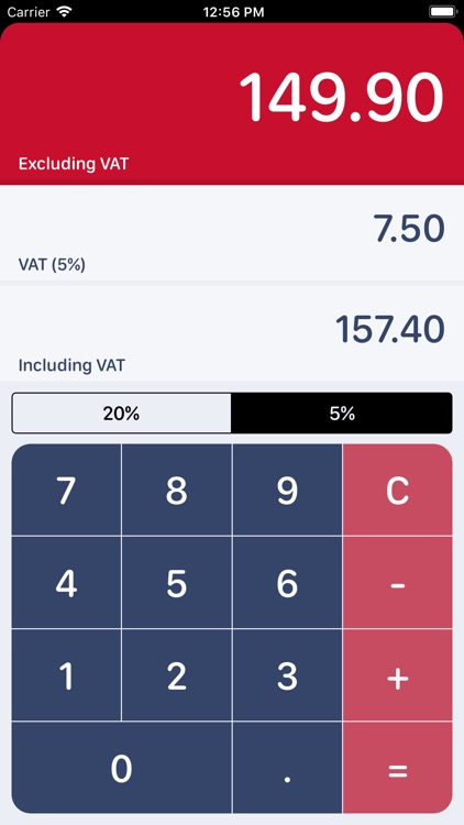 UK VAT Calculator