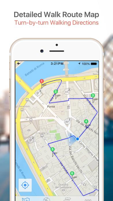 Florence Map & Walks (F) screenshot four
