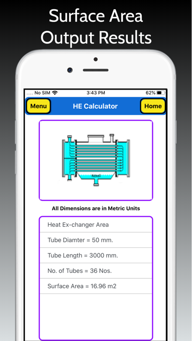 Heat Exchanger Area screenshot 6