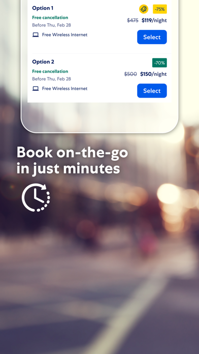 Expedia: Hotels, Flights & Car Screenshot on iOS