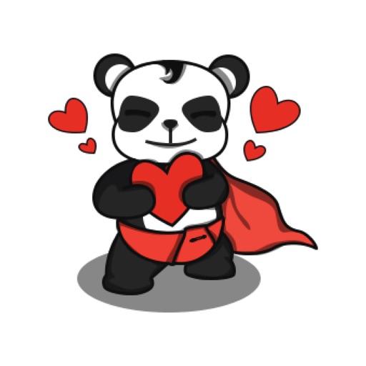 Funny and cute Panda sticker