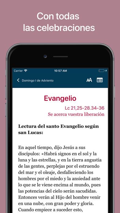 La Misa de Cada Día screenshot three