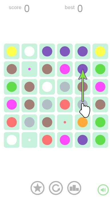 Slide Dots: A Colorful Puzzle screenshot one