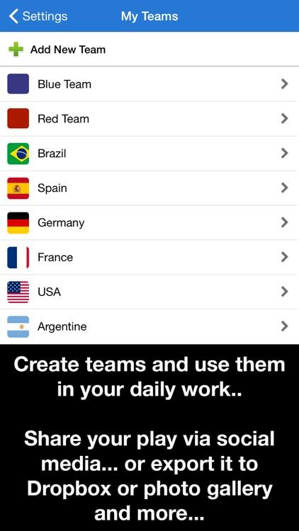 Coach Tactic Board: Soccer++ screenshot-3