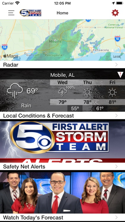 WKRG Weather screenshot-1