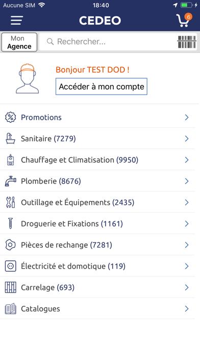 Screenshot #1 pour CEDEO
