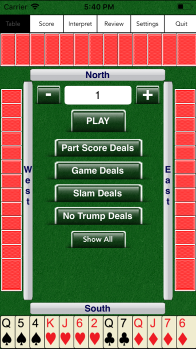 Screenshot for Bridge Baron Gold in United States App Store