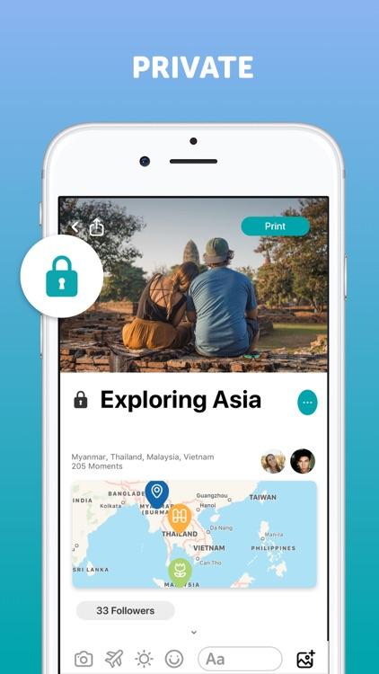 Journi Blog: Travel Journal screenshot-4